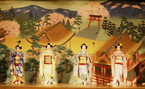 Performace in a Kyoto Theatre