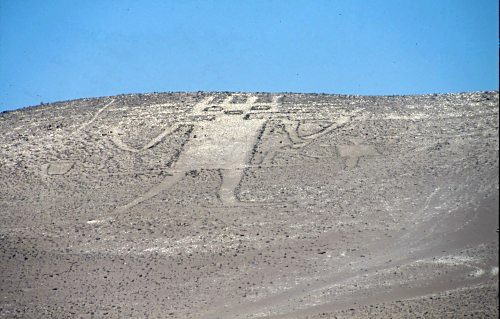 Atacama Giant, Atacam desert, Chile