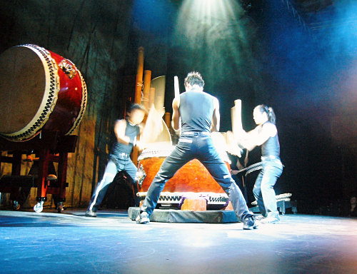 Kodo drums at the Edinburgh Fringe Festival
