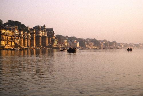 Dawn in Varanasi
