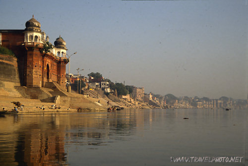 Ganges river before Sunrise (Varanasi)