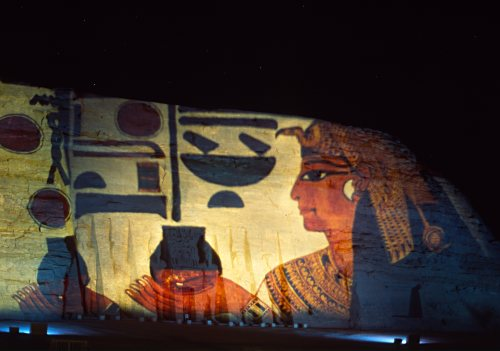 Sound and light show, Abu Simbel, Egypt