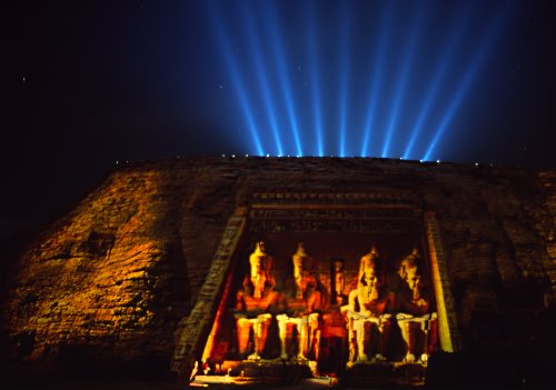 Abu Simbel Light Show