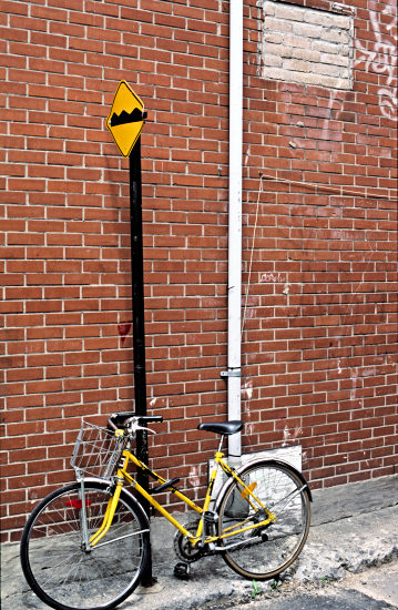bicycle in Montreal