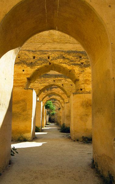 Heri es souani Granaries, Meknes (Morocco)