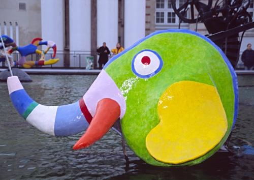 Fountain by Niki de Saint Phalle and Jean Tinguely, Paris