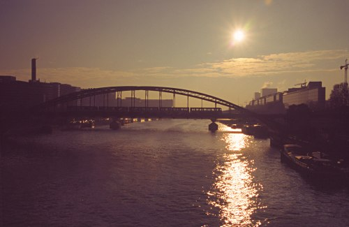 Seine at Sunrise