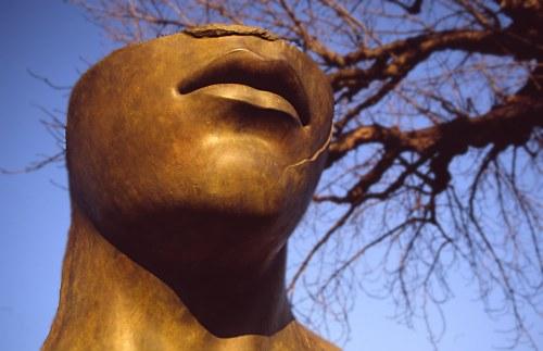 Statue by Igor Mitoraj, Tuileries, Paris