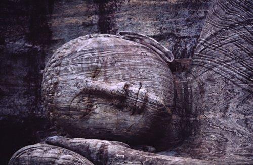 Reclining Buddha, Polonnaruwa, Sri lanka