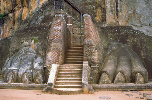 Sigiriya - lion rock