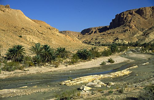 scenery near Metloui (Tunisia)