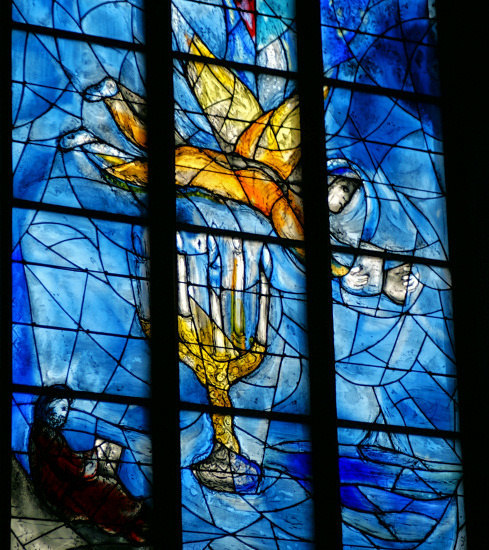 church window by Marc Chagall