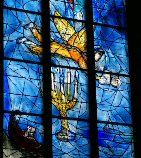 church window by Marc Chagall