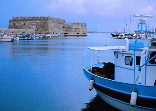 Koules Fortress, Heraklion, Greece