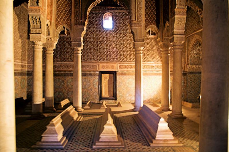 Image result for Saadian Tombs