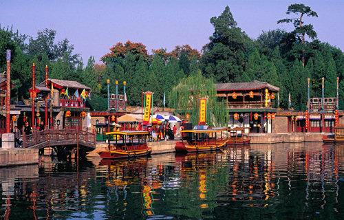 Suzhou Street, Summer Palace, Beijing
