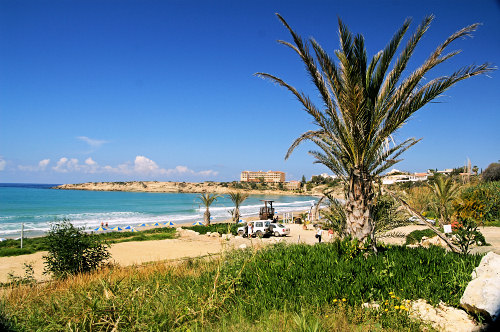 Coral Bay, a beautiful beach near Paphos