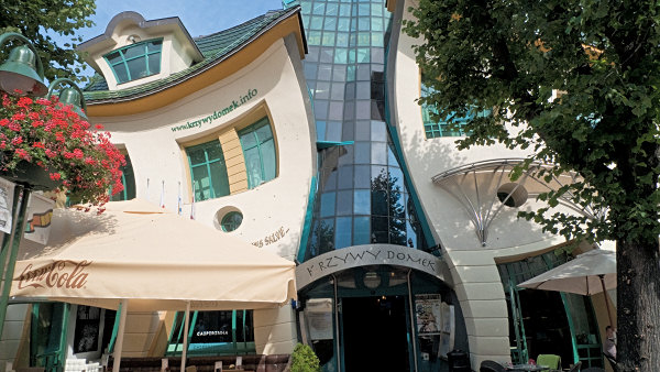Dancing house in Sopot