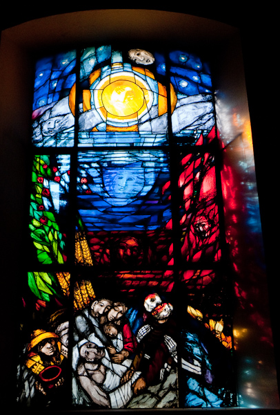 church window by Sieger K�der