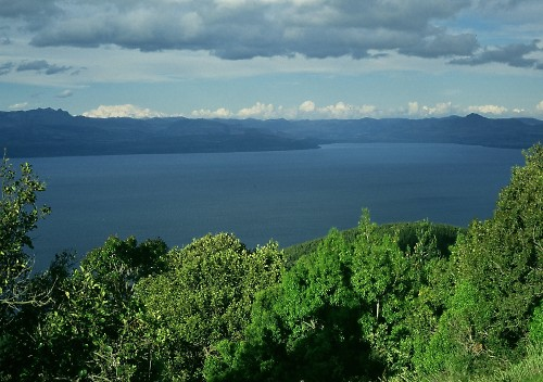 View from Cerro Otto, bei Bariloche.