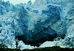 Calving glacier.