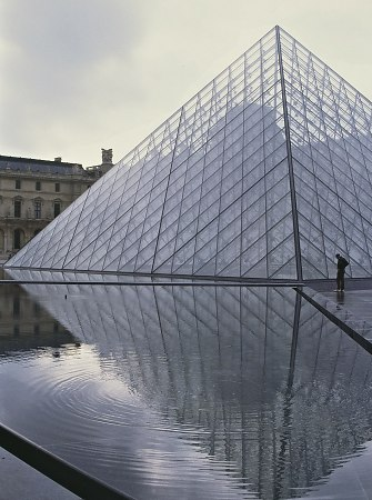 Pyramid at the Louvre, Paris