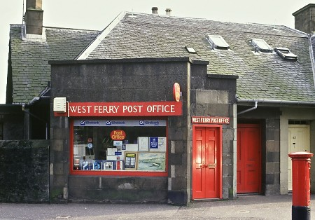 Post Office at Broughty Ferry (Dundee)-