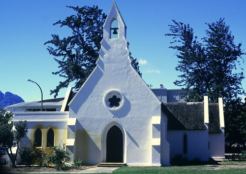 Church, stellenbosch (Winelands)