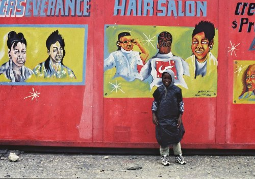 Barber's shop, cape town