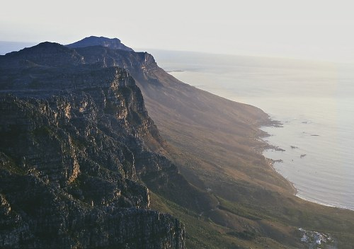 Cape Town: view from table mountain.