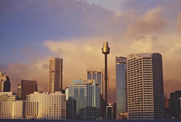 Sydney: skyline. Photo: L. Bobke