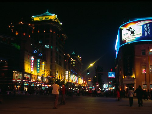 Beijing by Night.