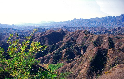 Mountains at Jinshan.