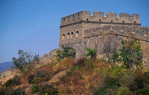 Great Wall: watch tower (Jin Shan).