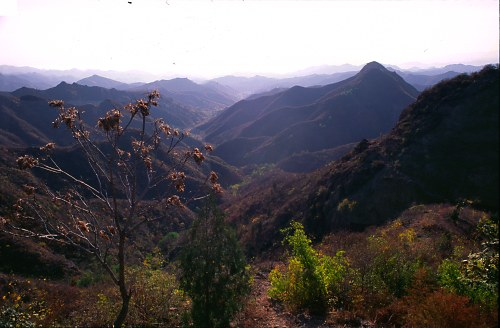 Mountains at Jinshan.