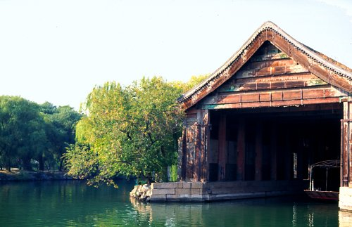 Old boat houses.