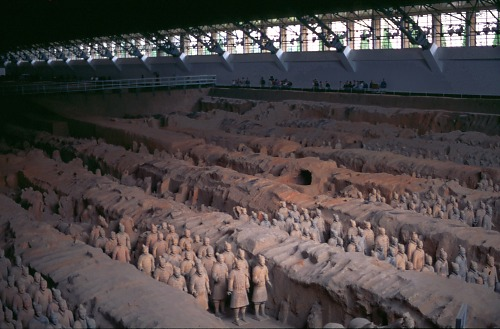 The famous Terracotta Army