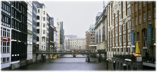 Hamburgo, Hamburg, inner city. Photo L. Bobke