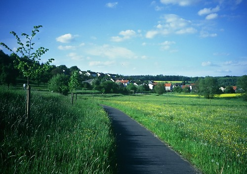 Rural Alemania, near Nidda. Photo L. Bobke