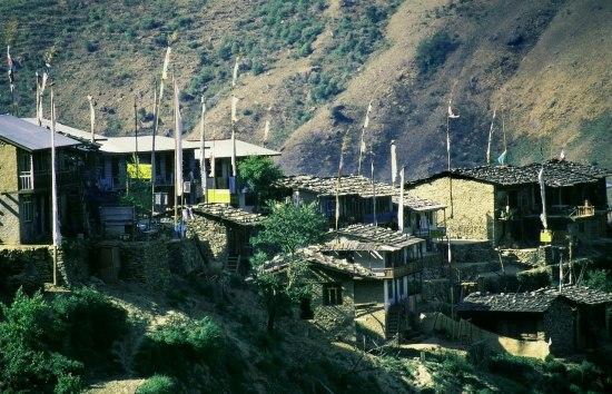 mountain village. Photo: L. Bobke