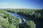 Australia II: Katherine gorge; outback, Mataranka springs; bats; crocodiles; snake; aboriginal art; Kakadu National Park