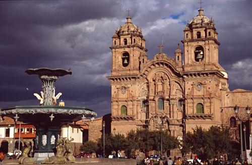 Cuzco, Plaza de Armas.