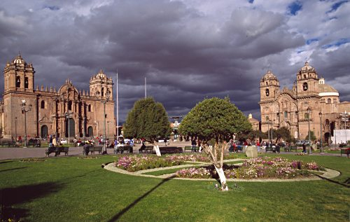 Plaza de Armas in Cuzco. Photo: L. Bobke