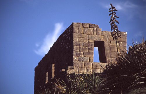Inca House, Machu Picchu.  Photo: L. Bobke