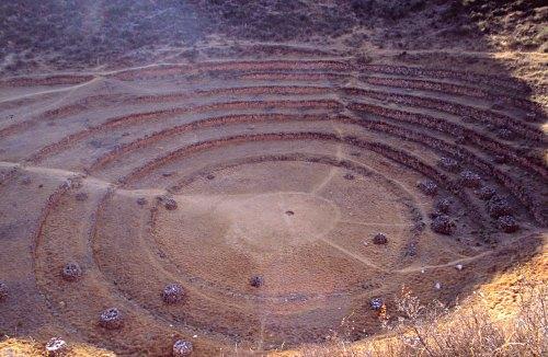Moray circular terraces
