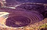 agriculural laboratory of the Incas? photos of the circular terraces
