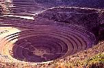 Circular terraces of Moray, Peru