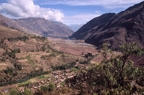 View from Pisac. Photo: L. Bobke