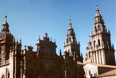 Santiago de Compostela: cathedral. Photo: L. Bobke