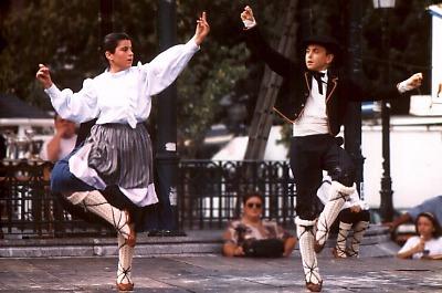 San Sebastián: traditioneller Tanz. Photo: L. Bobke